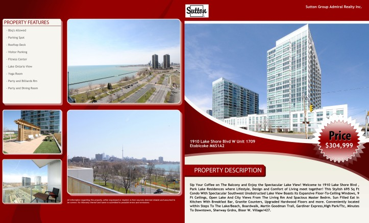 1910 Lake Shore Blvd For Sale