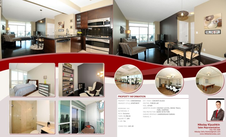 1910 Lake Shore Blvd W Unit 1709, Etobicoke M6S1A2 Property Feat
