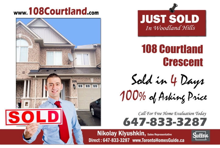 108 Courtland Final To Print Just Sold By Nikolay Klyushkin