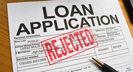 mortgage rejected before closing