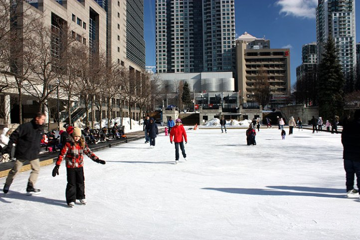 Skating Rink in Mel Lastman Square