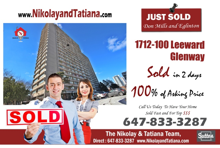 100 Leeward Glenway SOLD at 100% asking by Nikolay Klyushkin