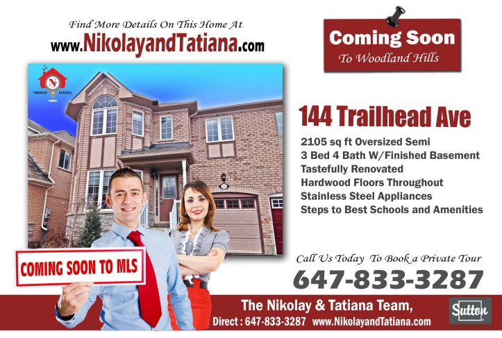 144 Trailhead Ave For Sale by Nikolay Klyushkin and Tatiana Klyushkina