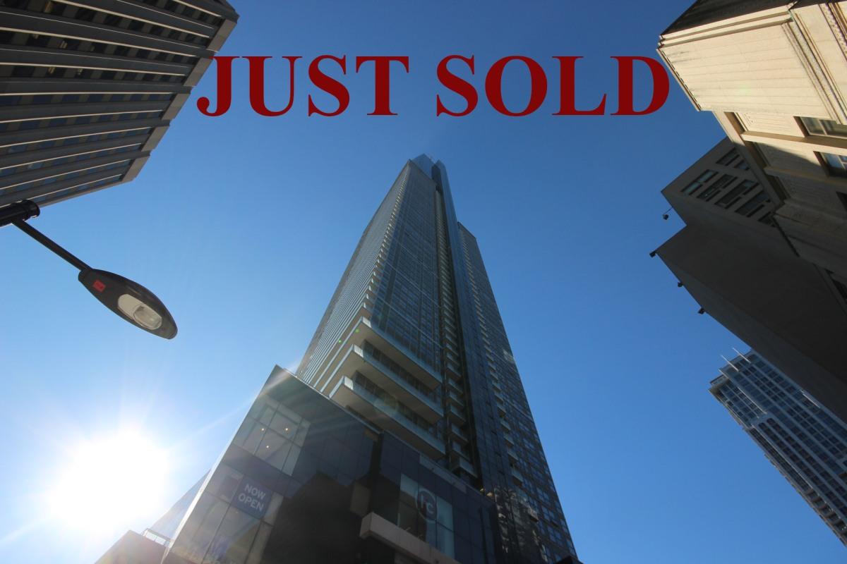 Another Sold- 388 Yonge St Unit 6105 -Aura Condominium